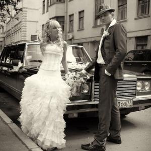 Свадьба в стиле Ретро в шикарном исполнении