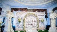 Баннер на свадьбу или Press Wall