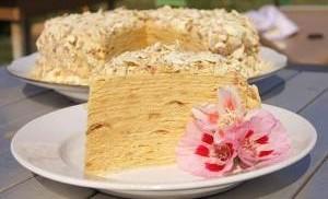 Как приготовить торт Наполеон в домашних условиях?