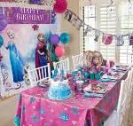 День рождения в стиле Холодное сердце порадует ваших детей