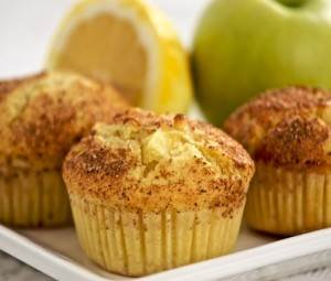 Яблочный кекс без яиц