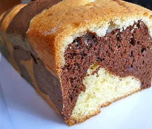 Простой в приготовлении мраморный кекс