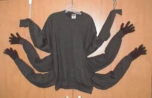 Как сделать костюм паука?